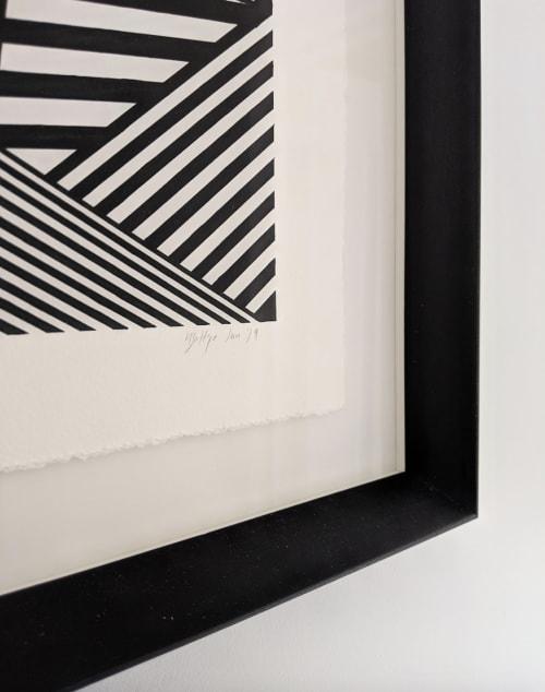 Paintings by Helena Battye seen at Creator's Studio, London - Untitled