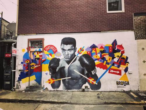 Brolga - Murals and Street Murals
