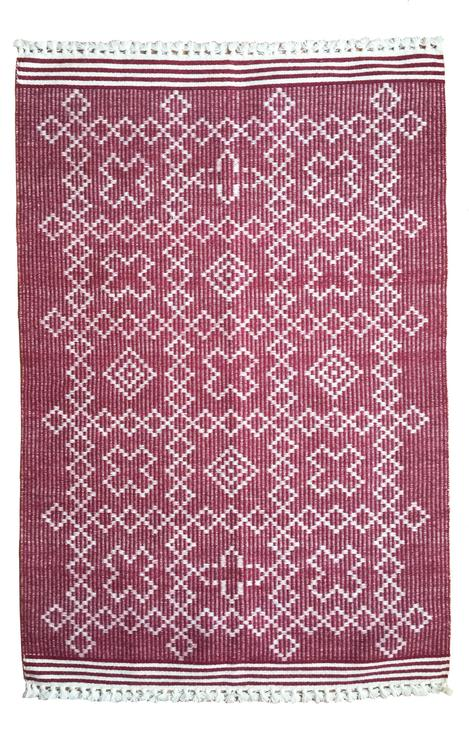 Rugs by Sunday / Monday by Nisha Mirani and Brendan Kramer at Private Residence, New York - Tic Tac Toe Rug