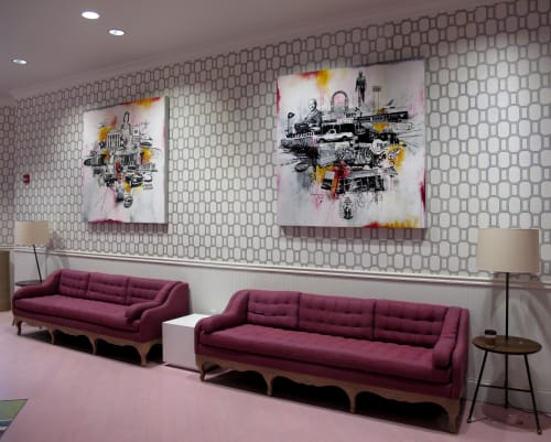 Paintings by William Goodman Art seen at Graduate Oxford, Oxford - Contemporary Painting