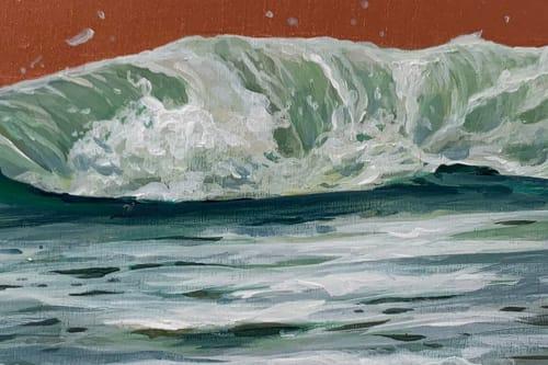 Ocean #24   Paintings by Lindsey Millikan (Milli)