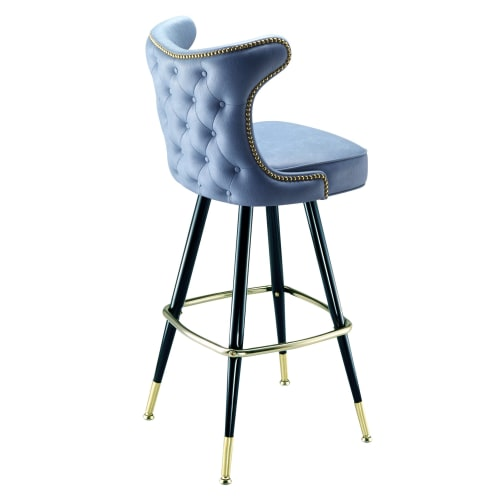 Chairs by Richardson Seating Corporation seen at Rumba, Seattle - Model 2516 Richardson Seating Cowboy bar stool