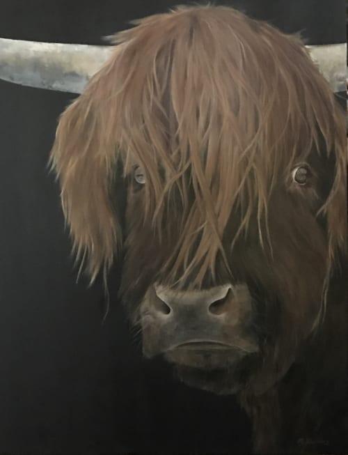 Feelin' Bullish | Paintings by Marilyn Landers