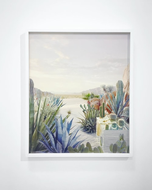 Paintings by Dean West seen at Private Residence, New York - Still Life #1