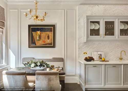 Lighting Design by VILLAVERDE London seen at Private Residence, London - MANSION APARTMENT – MAYFAIR, LONDON, UK
