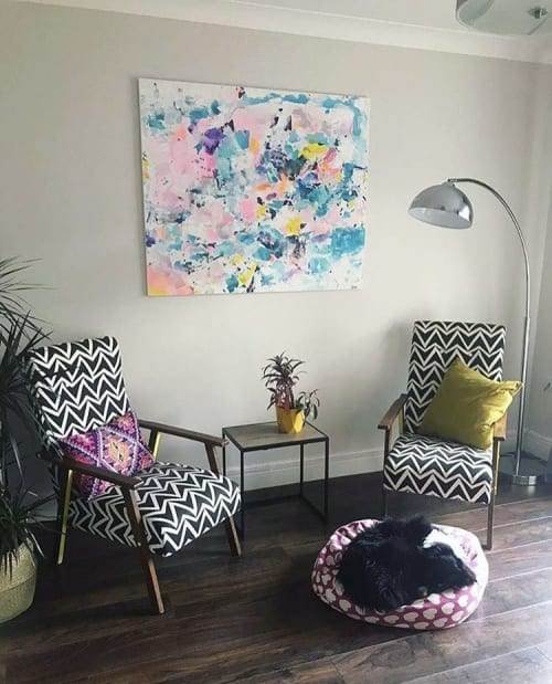 """Paintings by Tereza Sterbova seen at Private Residence, Cork - """"Follow your dreams"""" Painting"""