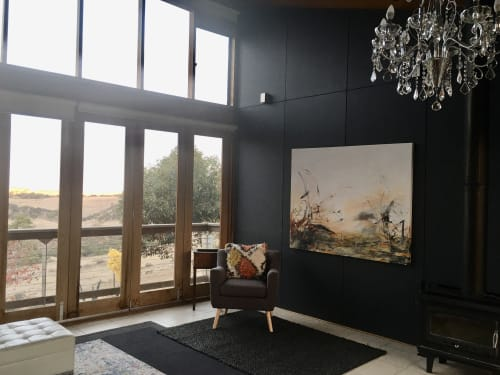 Paintings by Helenehardyart seen at Private Residence, Nairne - Off Planet
