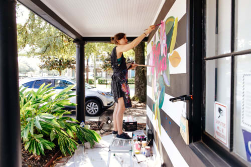 Murals by Ello Artist seen at Hey Penelope, Baton Rouge - Shop Local Mural