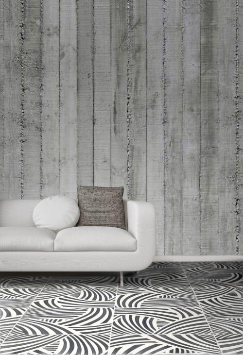 Tiles by Ar.ce.a. srl Handmade design seen at Private Residence, Cava de' Tirreni - sumatra cm 60x60xh1.2