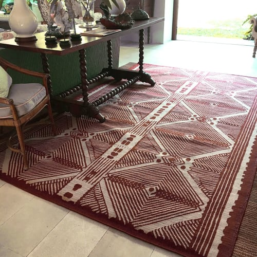 Rugs by INIGO ELIZALDE RUGS seen at Private Residence - Absa rug.