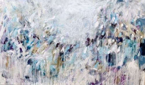 Paintings by Lori Mirabelli seen at Private Residence, Toronto - Let's Turn Back Time