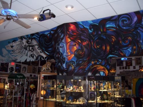 Michael J Mayosky - Murals and Art