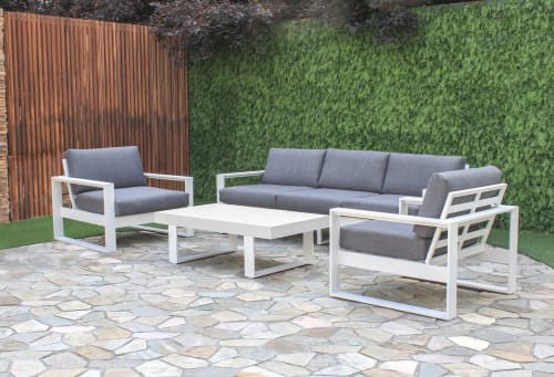 Couches & Sofas by FurnitureOkay seen at Private Residence, Melbourne - Manly Outdoor Lounge Setting