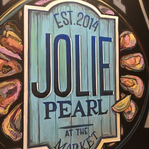 Murals by Ello Artist seen at White Star Market, Baton Rouge - Mural