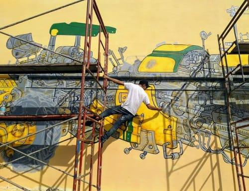 Rattus - Murals and Art