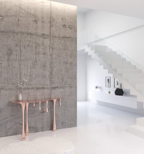 Tables by Mavimatt seen at Private Residence, Barcelona - MAGMA Console