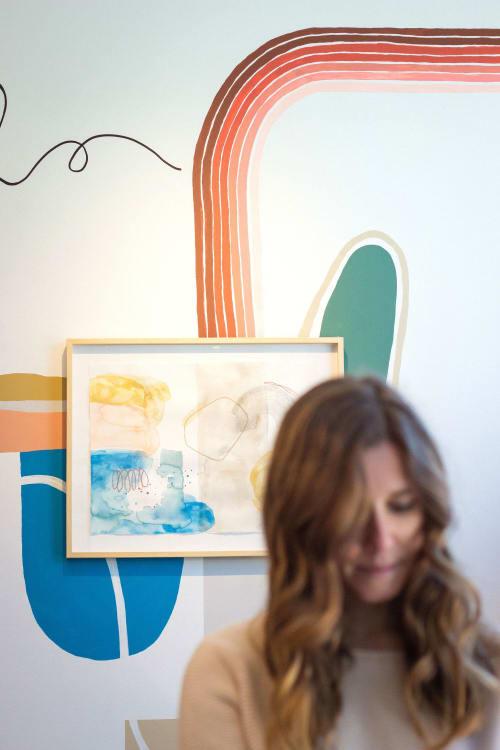 Art Curation by Allie Kushnir seen at lululemon, Oak Brook - Lululemon Oakbrook