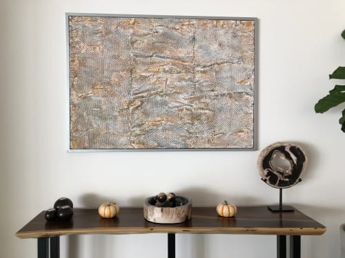 Paintings by Elmira Lilic seen at Private Residence, Palm Springs - Snakeskin
