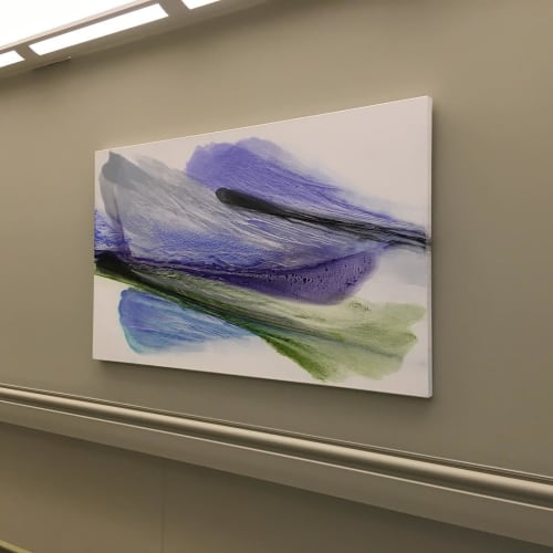 Paintings by Painting by Lisa Cuscuna seen at Stamford Hospital - Bennett Medical Center, Stamford - Spring