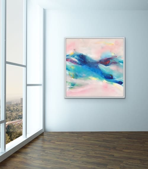 Paintings by Maria Bacha seen at Private Residence, Athens - Endless Flow