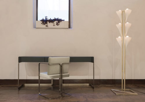 Lamps by Bianco Light + Space seen at The Future Perfect, New York - Cyrus Floor Lamp