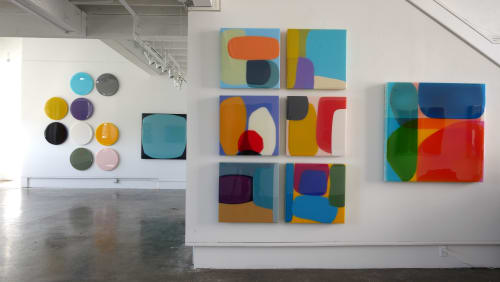 Paintings by Lola's Resin Artwork seen at Fort Mason, San Francisco - SFMOMA Artist Gallery