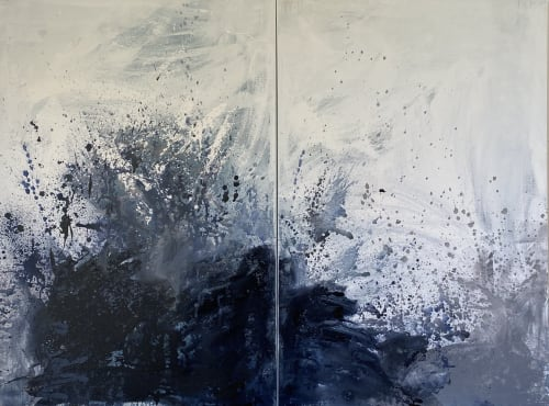 Paintings by Kathleen Rhee seen at Gold Coast, Gold Coast - The Wave