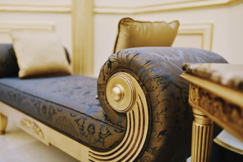Interior Design by Alexandra Interior Design seen at Private Residence, Abu Dhabi - Customized Furniture in Villa