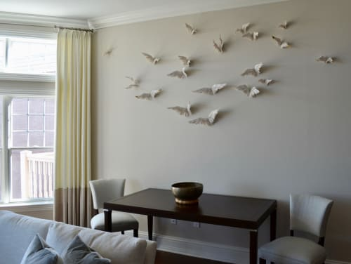 Sculptures by Jocelyn Braxton Armstrong seen at Private Residence, Fairfield - Flight