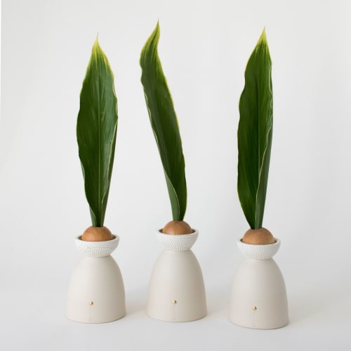 Vases & Vessels by MiMOKO seen at Private Residence, Vancouver - Heiko vase