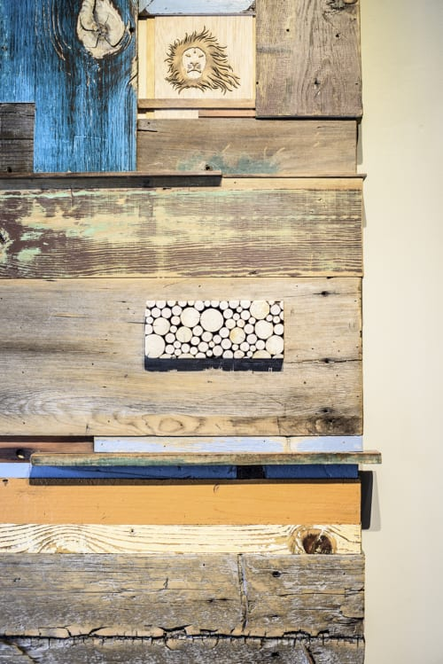 Art & Wall Decor by Roundwood Furniture. seen at Coffeebar Truckee, Truckee - andy cline