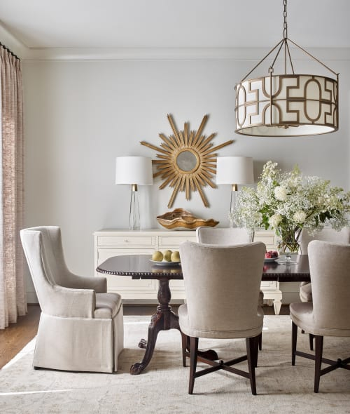 Lamps by Mathews Furniture + Design seen at Private Residence, Atlanta, Atlanta - Lamps
