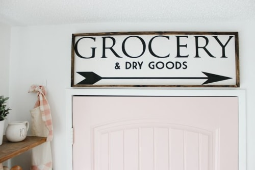 Art & Wall Decor by Williamraedesigns seen at Chantelle Lourens' Home - Grocery & Dry Goods