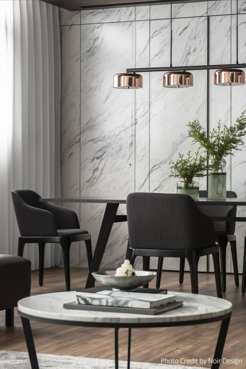 Pendants by SEED Design USA seen at Private Residence - Lalu Pendant