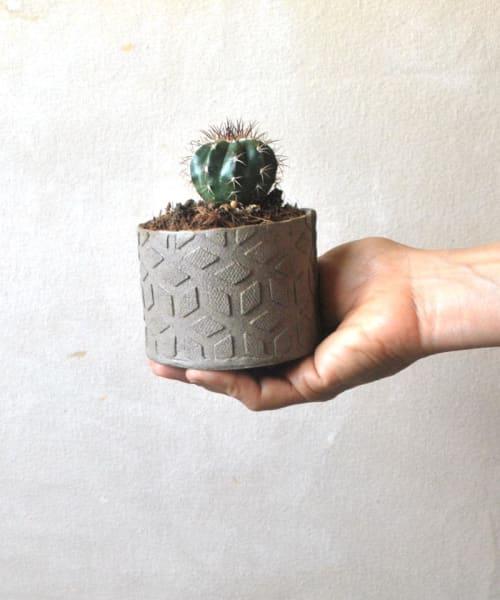 Vases & Vessels by ShellyClayspot seen at Creator's Studio, Kiryat Gat - Small Ceramic Planter