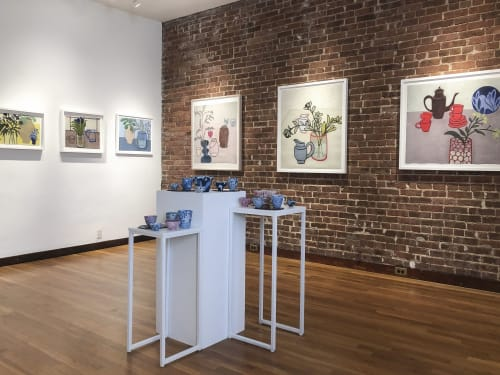 Paintings by Susan Eley Fine Art seen at Susan Eley Fine Art, New York - Space of Belonging Installation