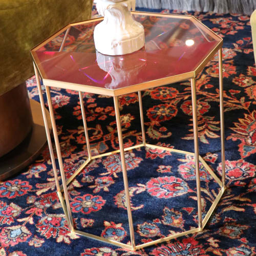 Tables by Jonathan Rachman Design seen at SF Decorator Showcase 2019, San Francisco - Tallis Side Tables