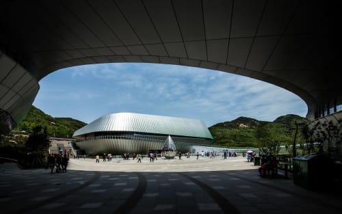 Architecture by UNStudio seen at Qingdao, Qingdao - Qingdao World Horticultural Expo (2011 - 2014)