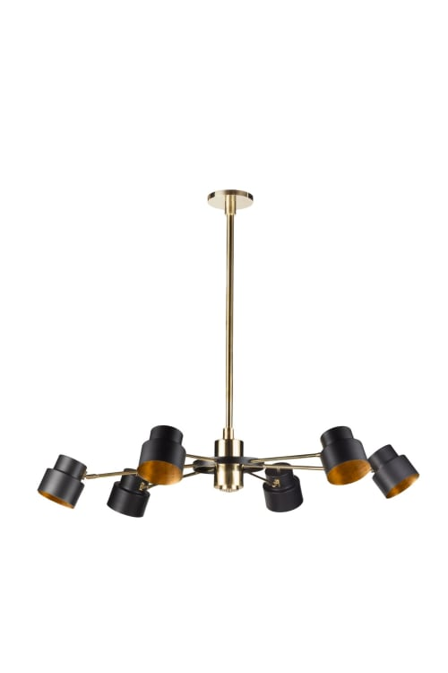 Chandeliers by Brass Brothers & Co. seen at The Malandrina, Taormina, Taormina - Satellite 10 Ceiling Lamp