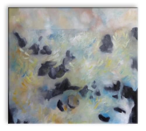Paintings by Barfoot Fine Art seen at Private Residence, Sauble Beach - Above Below