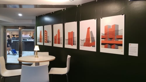 Interior Design by Hamish Macaulay seen at Grey, London - Brutal Icon Series