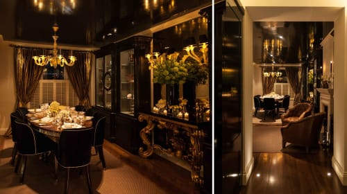 Lighting Design by VILLAVERDE London seen at Private Residence, London - CHELSEA TOWN HOUSE