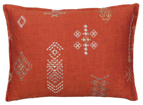 Pillows by Coral & Tusk seen at Private Residence, Brooklyn - Desert Collection