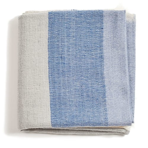 Linens & Bedding by Studio Variously seen at Private Residence, Bloomfield Hills - Ceru Handloom Throw