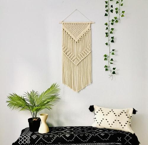 Macrame Wall Hanging by YASHI DESIGNS seen at Private Residence, Milpitas - Bohemian Macrame Wall Hanging - Alexa