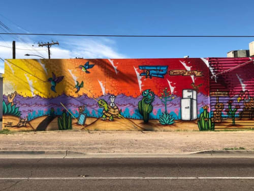 Jesse Perry Art - Murals and Art