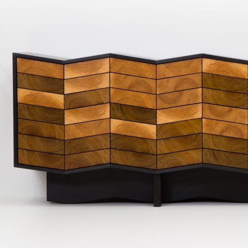 Furniture by Christopher Solar Design seen at Embassy of Canada to the United States, Washington - River Cabinet