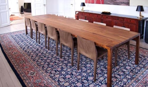 Tables by Ask Emil Skovgaard seen at Private Residence, New York - Arbaro Dining Table