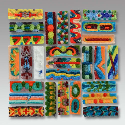 Wall Hangings by Natalie Ventimiglia seen at Private Residence, Denver - Earth: Playground For Growth