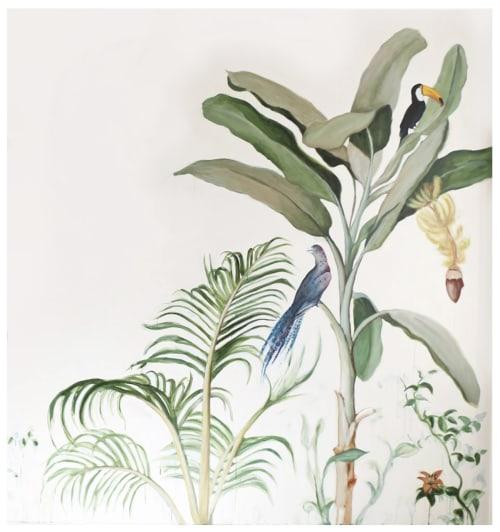 Banana Tree Mural | Murals by Stevie Howell